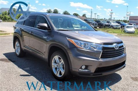 Used Toyota Highlander Hybrid Limited Platinum